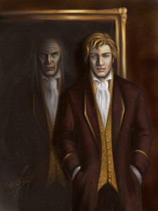 A portrait of Dorian Gray, by Mercuralis